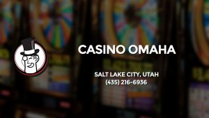 Casino & gambling-themed header image for Barons Bus Charter service to Casino Omaha in Salt Lake City, Utah. Please call 4352166936 to contact the casino directly.)