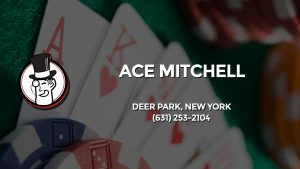 Casino & gambling-themed header image for Barons Bus Charter service to Ace Mitchell in Deer Park, New York. Please call 6312532104 to contact the casino directly.)