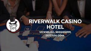 Casino & gambling-themed header image for Barons Bus Charter service to Riverwalk Casino Hotel in Vicksburg, Mississippi. Please call 6016340044 to contact the casino directly.)