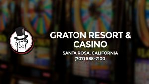 Casino & gambling-themed header image for Barons Bus Charter service to Graton Resort & Casino in Santa Rosa, California. Please call 7075887100 to contact the casino directly.)