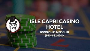Casino & gambling-themed header image for Barons Bus Charter service to Isle Capri Casino Hotel in Boonville, Missouri. Please call 6608821200 to contact the casino directly.)