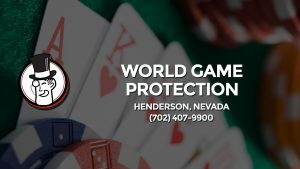 Casino & gambling-themed header image for Barons Bus Charter service to World Game Protection in Henderson, Nevada. Please call 7024079900 to contact the casino directly.)