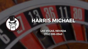 Casino & gambling-themed header image for Barons Bus Charter service to Harris Michael in Las Vegas, Nevada. Please call 7023950543 to contact the casino directly.)