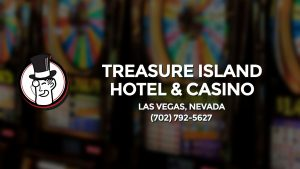 Casino & gambling-themed header image for Barons Bus Charter service to Treasure Island Hotel & Casino in Las Vegas, Nevada. Please call 7027925627 to contact the casino directly.)