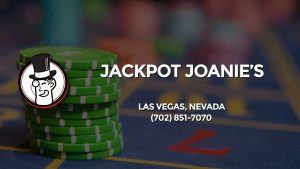 Casino & gambling-themed header image for Barons Bus Charter service to Jackpot Joanie's in Las Vegas, Nevada. Please call 7028517070 to contact the casino directly.)