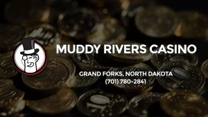 Casino & gambling-themed header image for Barons Bus Charter service to Muddy Rivers Casino in Grand Forks, North Dakota. Please call 7017802841 to contact the casino directly.)