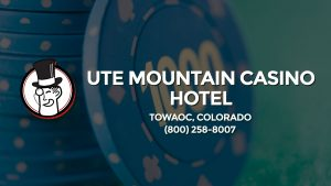 Casino & gambling-themed header image for Barons Bus Charter service to Ute Mountain Casino Hotel in Towaoc, Colorado. Please call 8002588007 to contact the casino directly.)