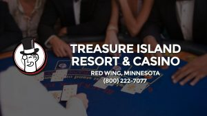 Casino & gambling-themed header image for Barons Bus Charter service to Treasure Island Resort & Casino in Red Wing, Minnesota. Please call 8002227077 to contact the casino directly.)