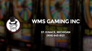 Casino & gambling-themed header image for Barons Bus Charter service to Wms Gaming Inc in St. Ignace, Michigan. Please call 9066438121 to contact the casino directly.)
