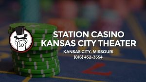 Casino & gambling-themed header image for Barons Bus Charter service to Station Casino Kansas City Theater in Kansas City, Missouri. Please call 8164523554 to contact the casino directly.)