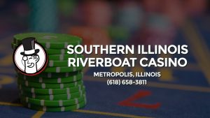 Casino & gambling-themed header image for Barons Bus Charter service to Southern Illinois Riverboat Casino in Metropolis, Illinois. Please call 6186583811 to contact the casino directly.)