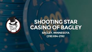 Casino & gambling-themed header image for Barons Bus Charter service to Shooting Star Casino Of Bagley in Bagley, Minnesota. Please call 2186942192 to contact the casino directly.)
