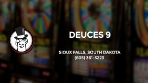 Casino & gambling-themed header image for Barons Bus Charter service to Deuces 9 in Sioux Falls, South Dakota. Please call 6053613223 to contact the casino directly.)