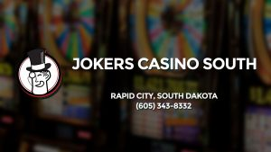 Casino & gambling-themed header image for Barons Bus Charter service to Jokers Casino South in Rapid City, South Dakota. Please call 6053438332 to contact the casino directly.)