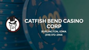 Casino & gambling-themed header image for Barons Bus Charter service to Catfish Bend Casino Corp in Burlington, Iowa. Please call 3193722946 to contact the casino directly.)
