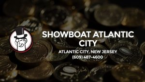 Casino & gambling-themed header image for Barons Bus Charter service to Showboat Atlantic City in Atlantic City, New Jersey. Please call 6094874600 to contact the casino directly.)