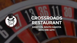Casino & gambling-themed header image for Barons Bus Charter service to Crossroads Restaurant in Sisseton, South Dakota. Please call 6056984273 to contact the casino directly.)