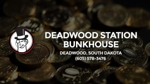 Casino & gambling-themed header image for Barons Bus Charter service to Deadwood Station Bunkhouse in Deadwood, South Dakota. Please call 6055783476 to contact the casino directly.)