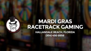 Casino & gambling-themed header image for Barons Bus Charter service to Mardi Gras Racetrack Gaming in Hallandale Beach, Florida. Please call 9544568956 to contact the casino directly.)