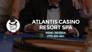 Casino & gambling-themed header image for Barons Bus Charter service to Atlantis Casino Resort Spa in Reno, Nevada. Please call 7758244411 to contact the casino directly.)