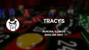 Casino & gambling-themed header image for Barons Bus Charter service to Tracy's in Aurora, Illinois. Please call 6302993947 to contact the casino directly.)