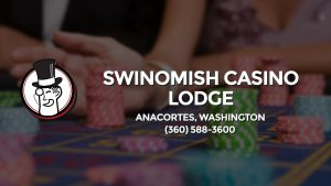 Casino & gambling-themed header image for Barons Bus Charter service to Swinomish Casino Lodge in Anacortes, Washington. Please call 3605883600 to contact the casino directly.)