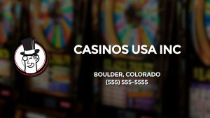 Casino & gambling-themed header image for Barons Bus Charter service to Casinos Usa Inc in Boulder, Colorado. Please call 5555555555 to contact the casino directly.)