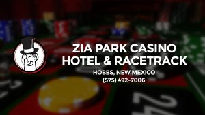 Casino & gambling-themed header image for Barons Bus Charter service to Zia Park Casino Hotel & Racetrack in Hobbs, New Mexico. Please call 5754927006 to contact the casino directly.)