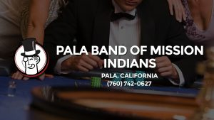 Casino & gambling-themed header image for Barons Bus Charter service to Pala Band Of Mission Indians in Pala, California. Please call 7607420627 to contact the casino directly.)
