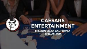 Casino & gambling-themed header image for Barons Bus Charter service to Caesars Entertainment in Mission Viejo, California. Please call 9494629535 to contact the casino directly.)