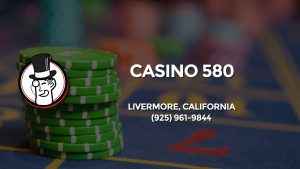 Casino & gambling-themed header image for Barons Bus Charter service to Casino 580 in Livermore, California. Please call 9259619844 to contact the casino directly.)