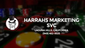 Casino & gambling-themed header image for Barons Bus Charter service to Harrahs Marketing Svc in Laguna Hills, California. Please call 9494629535 to contact the casino directly.)