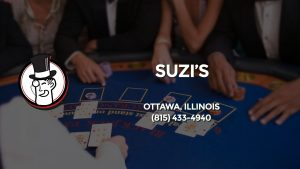 Casino & gambling-themed header image for Barons Bus Charter service to Suzi's in Ottawa, Illinois. Please call 8154334940 to contact the casino directly.)