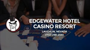 Casino & gambling-themed header image for Barons Bus Charter service to Edgewater Hotel Casino Resort in Laughlin, Nevada. Please call 7022982453 to contact the casino directly.)