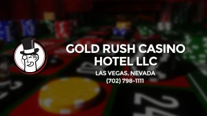 Casino & gambling-themed header image for Barons Bus Charter service to Gold Rush Casino Hotel Llc in Las Vegas, Nevada. Please call 7027981111 to contact the casino directly.)