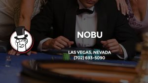 Casino & gambling-themed header image for Barons Bus Charter service to Nobu in Las Vegas, Nevada. Please call 7026935090 to contact the casino directly.)