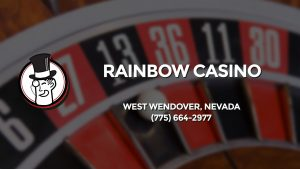Casino & gambling-themed header image for Barons Bus Charter service to Rainbow Casino in West Wendover, Nevada. Please call 7756642977 to contact the casino directly.)