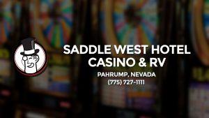 Casino & gambling-themed header image for Barons Bus Charter service to Saddle West Hotel Casino & Rv in Pahrump, Nevada. Please call 7757271111 to contact the casino directly.)