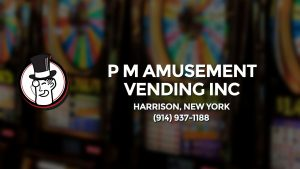 Casino & gambling-themed header image for Barons Bus Charter service to P M Amusement Vending Inc in Harrison, New York. Please call 9149371188 to contact the casino directly.)