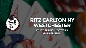 Casino & gambling-themed header image for Barons Bus Charter service to Ritz Carlton Ny Westchester in White Plains, New York. Please call 9149465500 to contact the casino directly.)