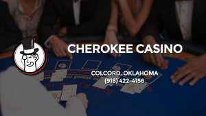 Casino & gambling-themed header image for Barons Bus Charter service to Cherokee Casino in Colcord, Oklahoma. Please call 9184224156 to contact the casino directly.)