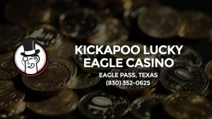 Casino & gambling-themed header image for Barons Bus Charter service to Kickapoo Lucky Eagle Casino in Eagle Pass, Texas. Please call 8303520625 to contact the casino directly.)