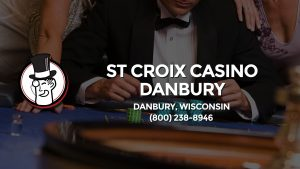 Casino & gambling-themed header image for Barons Bus Charter service to St Croix Casino Danbury in Danbury, Wisconsin. Please call 8002388946 to contact the casino directly.)