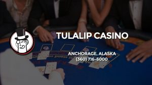 Casino & gambling-themed header image for Barons Bus Charter service to Tulalip Casino in Anchorage, Alaska. Please call 3607166000 to contact the casino directly.)