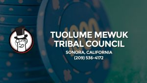 Casino & gambling-themed header image for Barons Bus Charter service to Tuolume Mewuk Tribal Council in Sonora, California. Please call 2095364172 to contact the casino directly.)