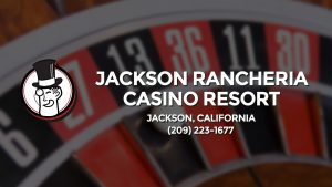 Casino & gambling-themed header image for Barons Bus Charter service to Jackson Rancheria Casino Resort in Jackson, California. Please call 2092231677 to contact the casino directly.)