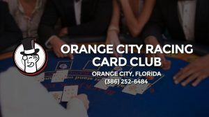 Casino & gambling-themed header image for Barons Bus Charter service to Orange City Racing Card Club in Orange City, Florida. Please call 3862526484 to contact the casino directly.)