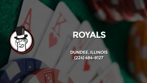 Casino & gambling-themed header image for Barons Bus Charter service to Royals in Dundee, Illinois. Please call 2244848127 to contact the casino directly.)
