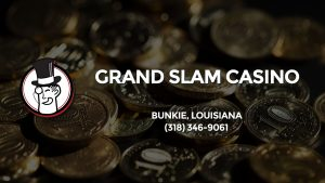 Casino & gambling-themed header image for Barons Bus Charter service to Grand Slam Casino in Bunkie, Louisiana. Please call 3183469061 to contact the casino directly.)
