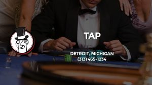 Casino & gambling-themed header image for Barons Bus Charter service to Tap in Detroit, Michigan. Please call 3134651234 to contact the casino directly.)